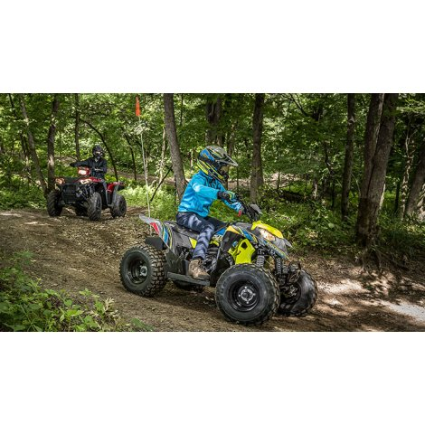 Polaris Outlaw 50 Lime Squeeze (2018)