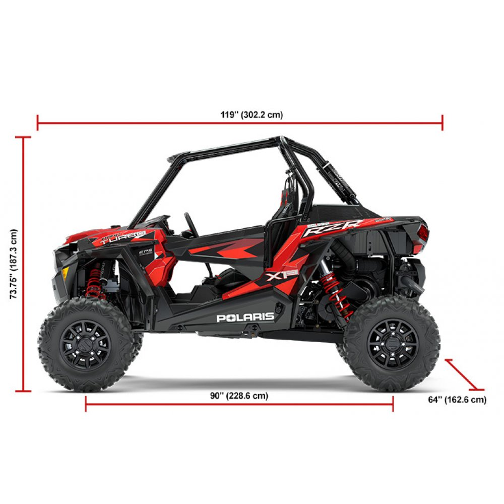 Polaris RZR XP Turbo EPS - Dynamix Edition Ride Command - Black Pearl (MD)