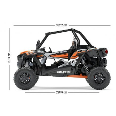 Polaris RZR XP Turbo EPS - Ghost Grey (Tractor)