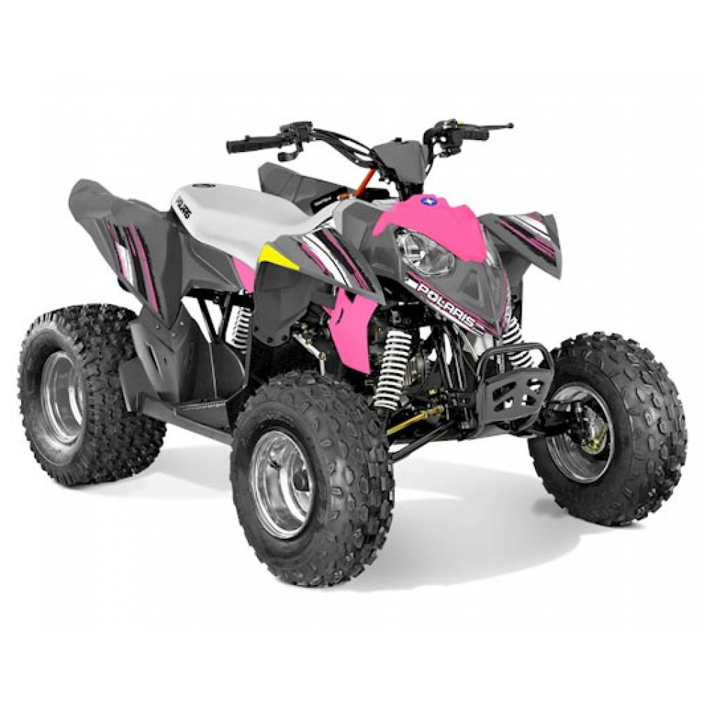 Polaris Outlaw 110 EFI Pink Kids Quad