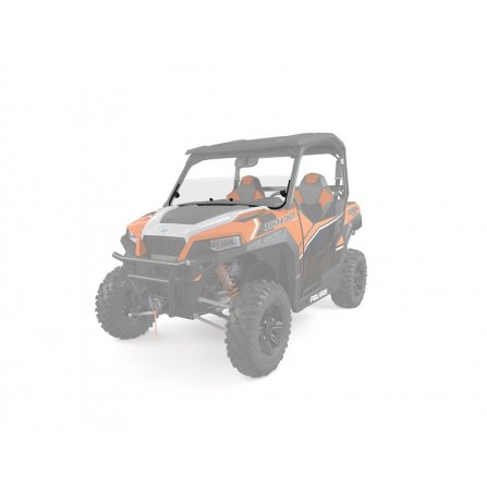 Polaris Lock & Ride® Half Windshield - Poly 2881111