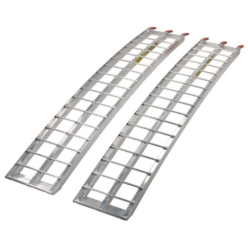 Heavy-Duty Aluminum Arched Ramp 2875386