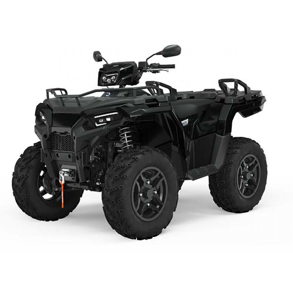 Polaris Sportsman 570 EPS SE Special - Black Pearl - Road Legal
