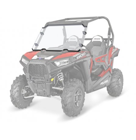 how to install polaris lock and ride windshield
