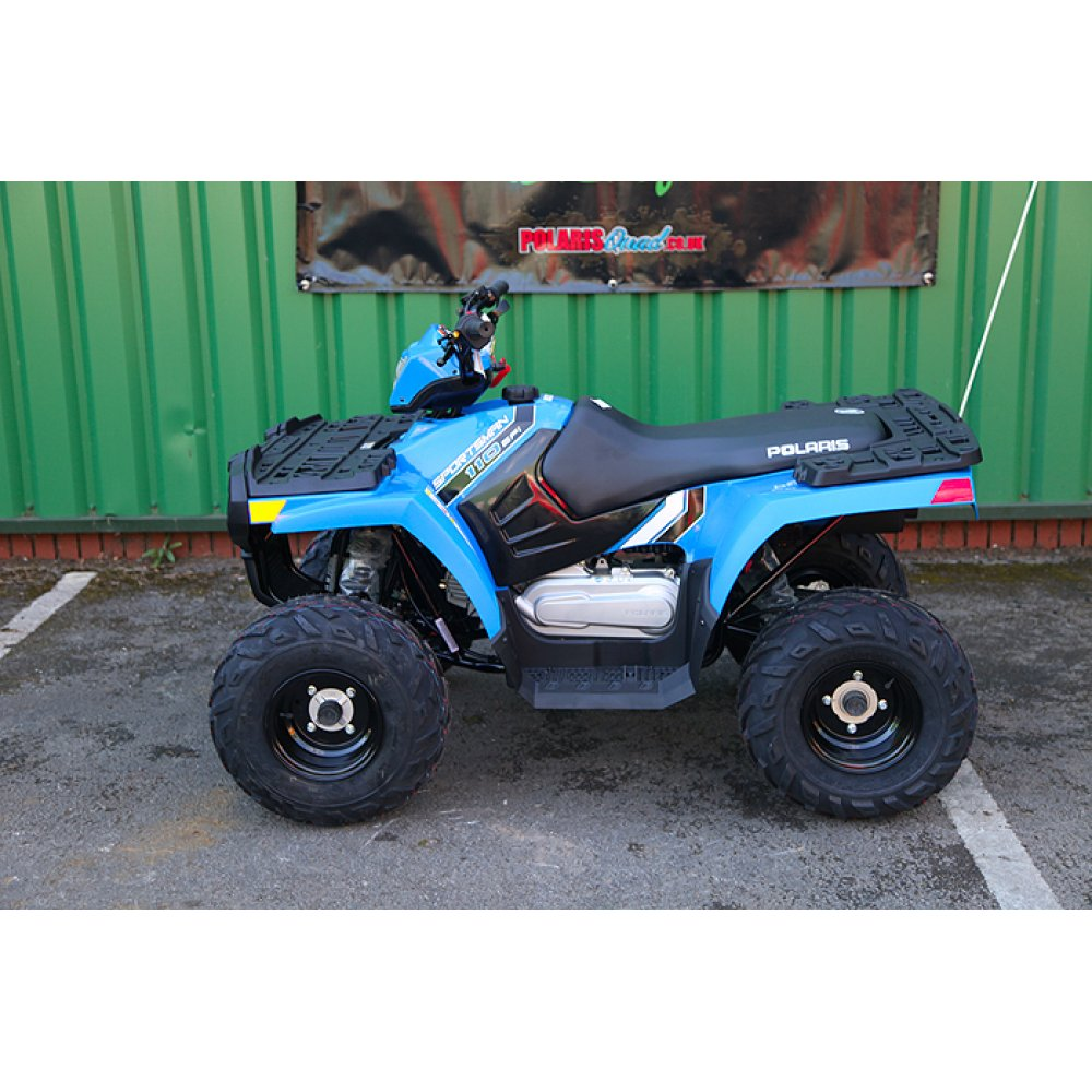 Polaris Sportsman 110 EFI Velocity Blue Kids Quad (2017)