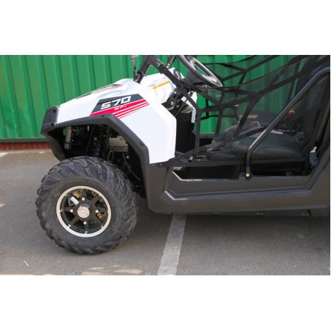 Polaris RZR 570 - White Lightning (Tractor)